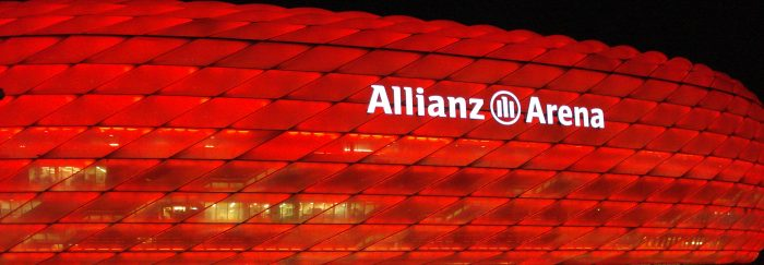 Place match foot L'Allianz Arena Bayern Munich