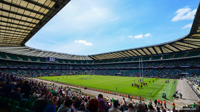 Angleterre Rugby - Stade de Twickenham Londres
