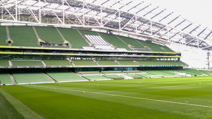 Aviva Stadium Dublin - home of 6 Nations