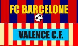 PLace de match de foot: Barcelone Valence