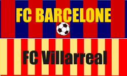 Place de match de foot Barcelone Villarreal