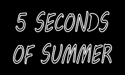 Billet 5 Seconds of Summer