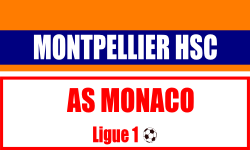 Billet Montpellier HSC - AS Monaco