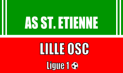 Billet Saint Etienne Lille Ligue 1