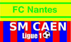 Place de foot Nantes - Caen