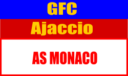 Billets Ligue 1 GFC Ajaccio - ASM