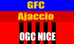 Ajaccio OGC Nice Match Ligue 1