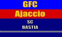 Place de Foot . Match GFC Ajaccio - SC Bastia