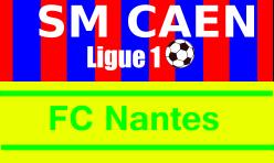 Billetterie Caen Ligue 1 -Match Caen Nantes