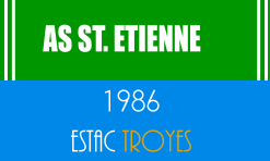 Match Ligue 1 Etienne - ESTAC Troyes