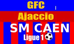 Place de foot Ajaccio - Caen