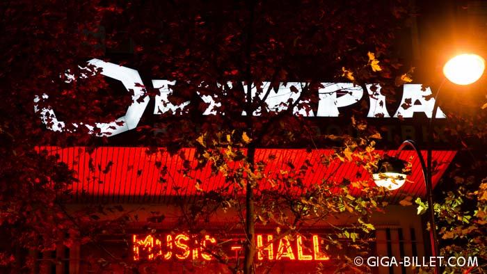 Billetterie L'Olympia Paris