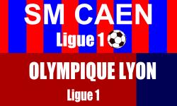 Billet SM Caen Lyon foot