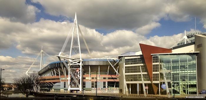 Le Millennium Stadium de Cardiff