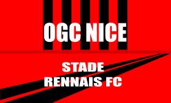 Place de foot - match Nice -Rennes