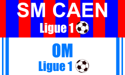 Billet SM Caen Marseille foot Ligue 1