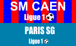 Billet SM Caen PSG Match Ligue 1