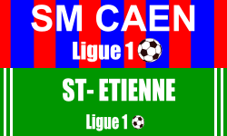 Billet SM Caen Saint Etienne foot