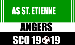 Place de Foot Etienne vs Angers SCO Ligue 1