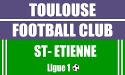 Billet Toulouse FC Saint Etienne