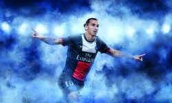 Zlatan Ibrahimovic - MAILLOT PSG DOMICILE 2013-2014