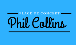 Billets Phil Collins