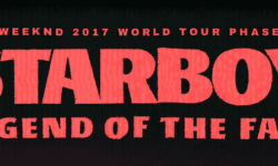 Billet The weeknd Tour 2017
