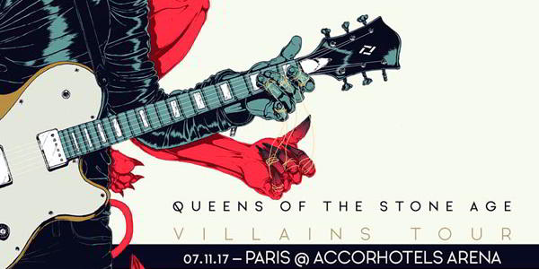 Billets Queens of the Stone Age Place Concert 2017