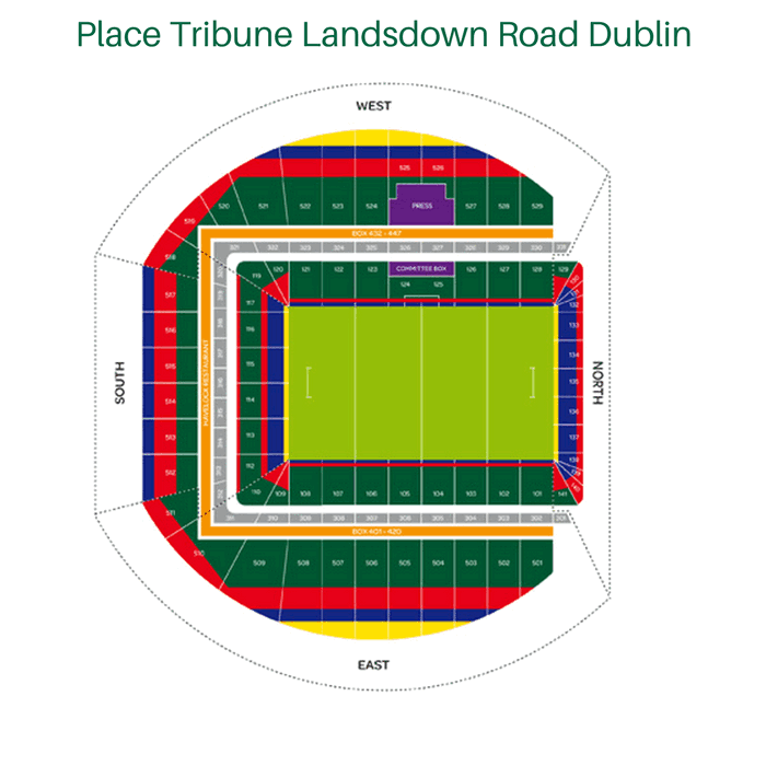 Place Tribune Landsdown Road Dublin