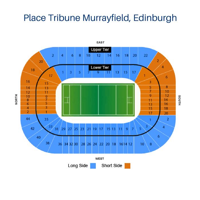 Place Tribune Murrayfield, Edinburgh