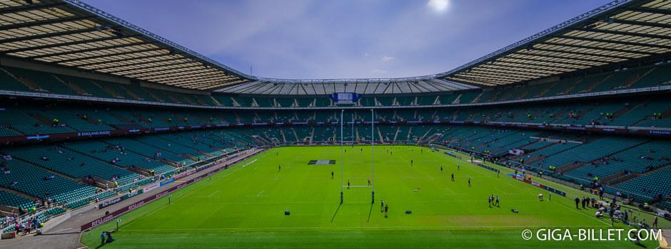 Rugby Stade de Twickenham Londres