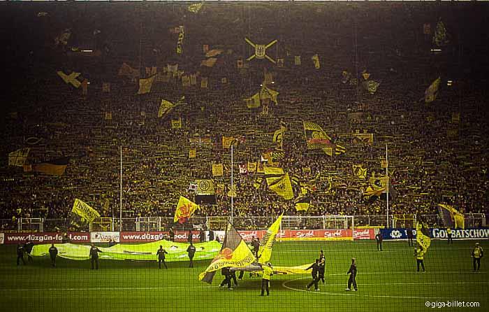 Borussia Dortmund - Stade le Signal Iduna Park